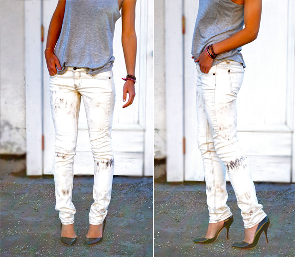 Do It Yourself: Bleach Tie Dye Jeans - Advice from a ...