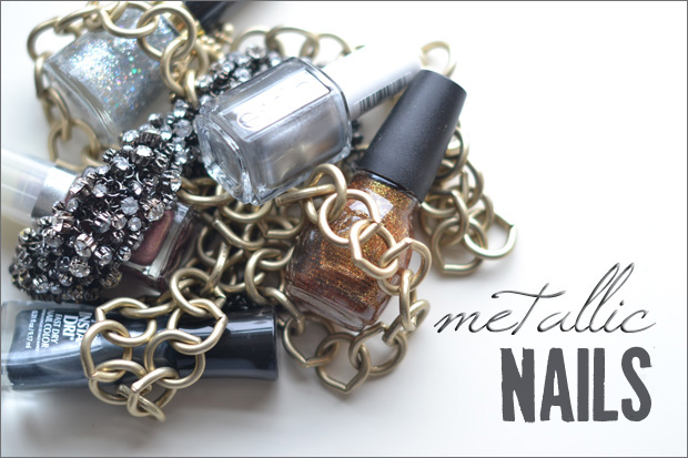 Try This: Metallic Nails