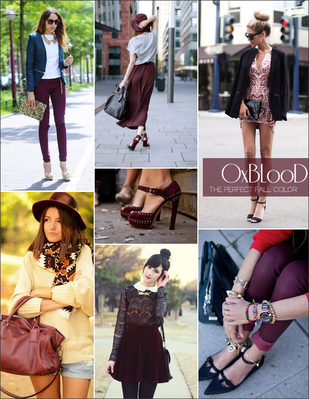 Fall Trend: Oxblood…Can't we just call it maroon?