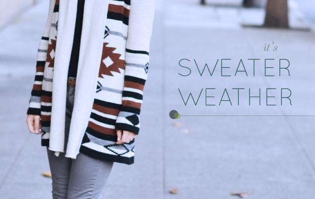 Wardrobe Staple: Oversized Sweaters