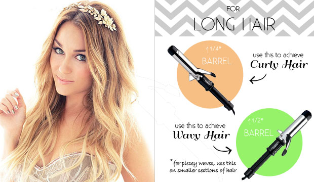 Lauren Conrad Curling Iron Size