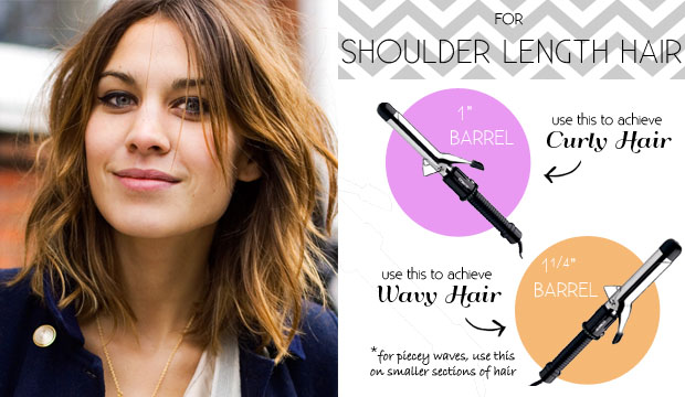 Superb The Right Curling Iron For Your Hair Length Hairstyle Inspiration Daily Dogsangcom