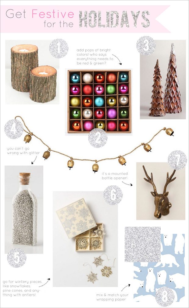 8 Holiday Decorations Under $25