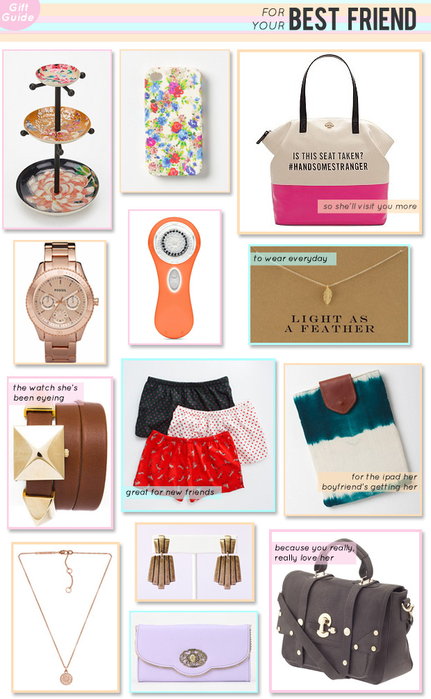 Gift Guide: For Your Best Friend