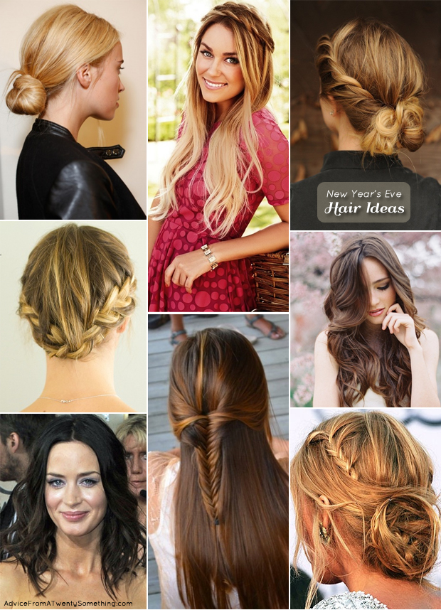 New Year Hairstyles For Long Hair : New years eve hair ideas