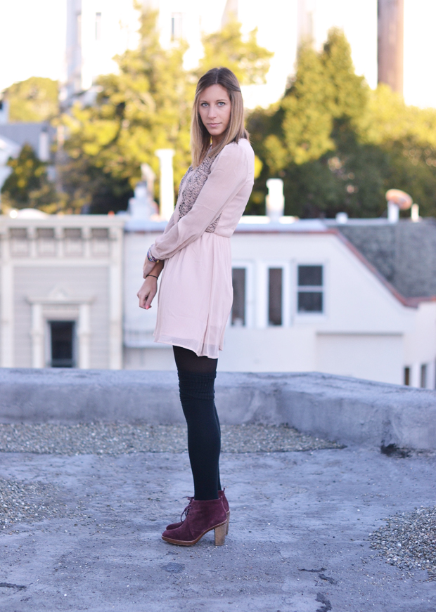 dress in winter