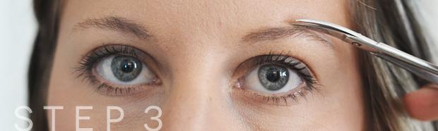 eyebrow grooming step3