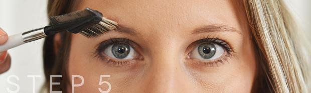 eyebrow grooming step5