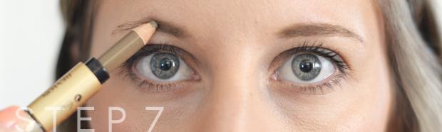 eyebrow grooming step7