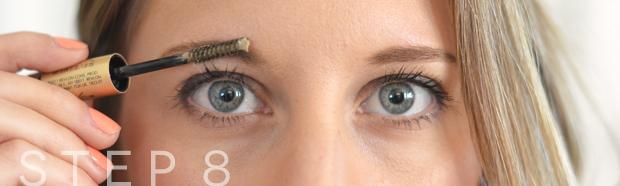 eyebrow grooming step8
