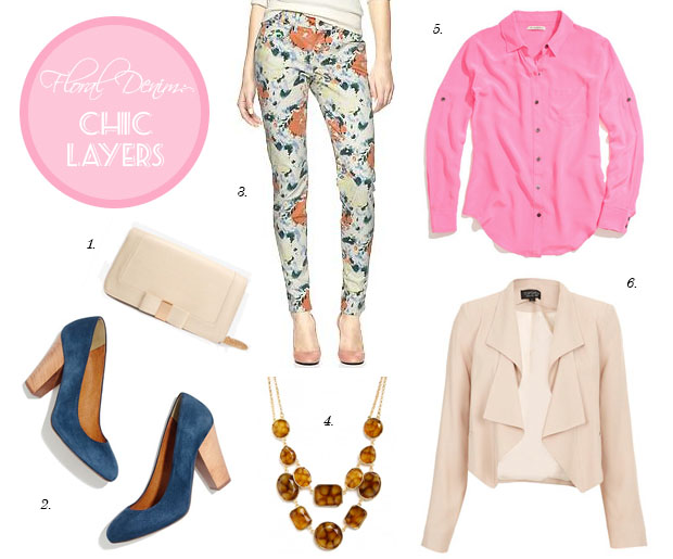 3 Ways to Style Floral Jeans