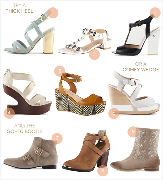Comfortable Heels for Spring from Aldo Shoes