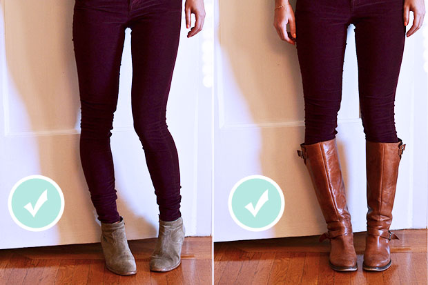 how to make skinny jeans tighter around the ankles