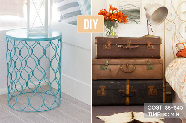 D.I.Y. Nightstand   Cheap Home Crafts   Redbook Ideas. Diy_sidetables. 15  Beautiful Cheap DIY Coffee Table ...
