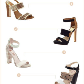 Spring Essentials: Mixed Neutral Sandals