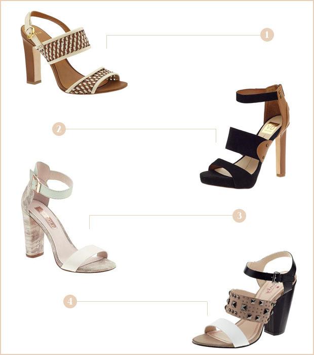 Spring Essentials: Mixed Neutral Sandals