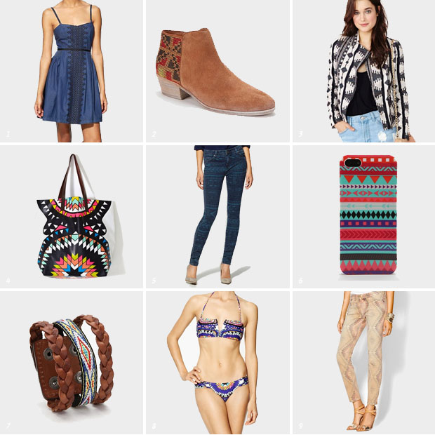 Spring Trend: Tribal Prints