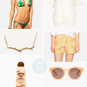 Beach Day Essentials, Part 2: #newfaceofhawaiiantropic