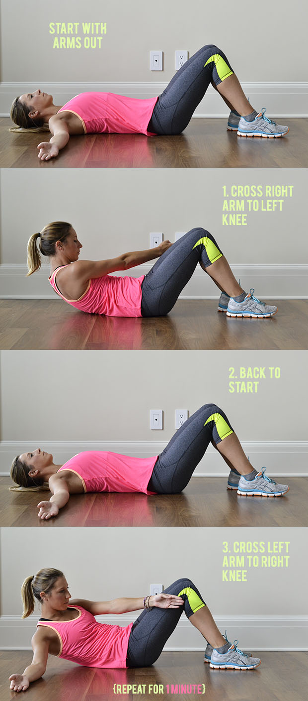 Circuit Training: 5 At-Home Ab Exercises