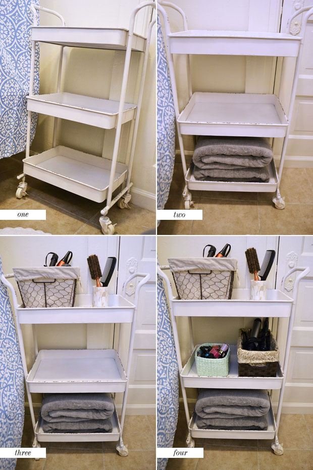 get organized your bathroom