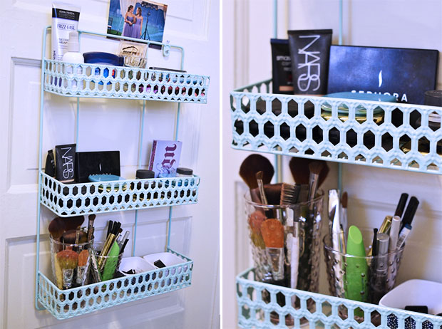 Bathroom makeup organizers - What Are Some Of Your Makeup Organization Ideas
