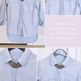 Pairing A Statement Necklace with the Right Neckline