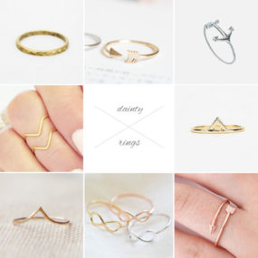 Dainty Rings Under $25