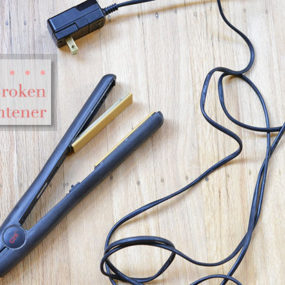 How to Fix Your Straightener