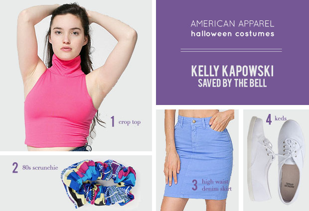 Last Minute Halloween Costumes All from American Apparel