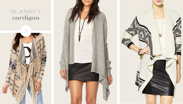 Get Cozy: 3 Sweater Trends for Fall