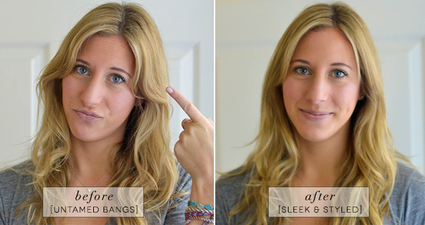 how-to-style-bangs