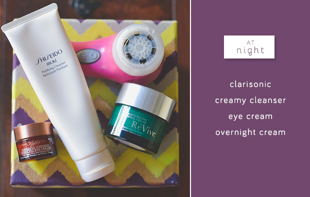 nighttime-skin-care-routine