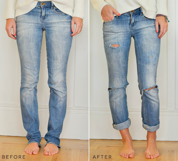 How To Cut Jeans Into Ripped Jeans - Xtellar Jeans