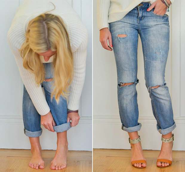 DIY-boyfriend-jeans-roll