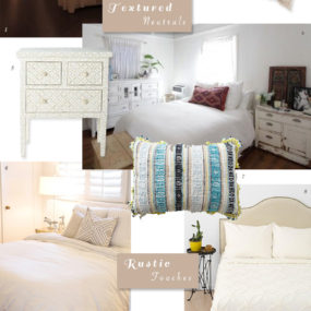 Bedroom Decor: Rustic & Beachy