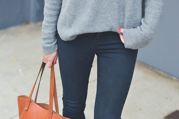 Latest Obsession: Ripped Black Skinnies