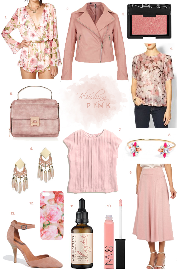 Color to Covet: Blush