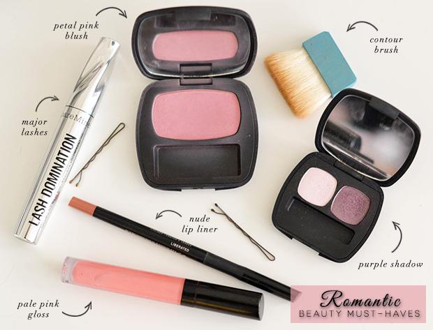 How To: Romantic Hair & Makeup