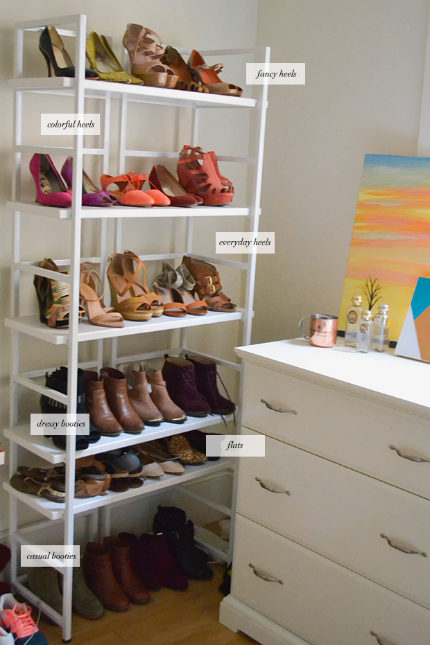 shoe organization tips. Black Bedroom Furniture Sets. Home Design Ideas