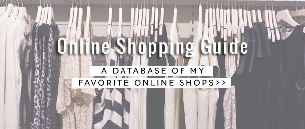 New! Online Shopping Guide