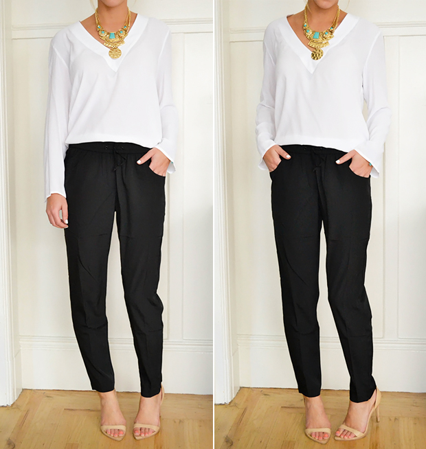 simple outfit statement necklaces