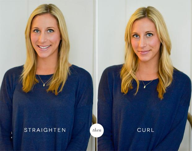 straighten+curl