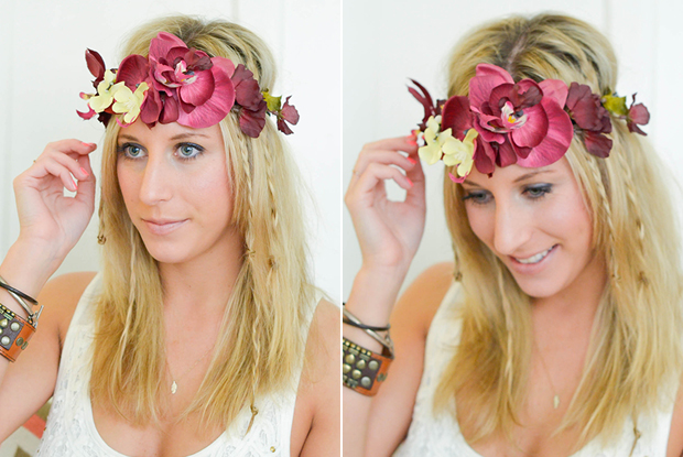 How To: Coachella Hair