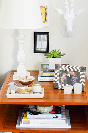 Apartment Refresh: Bedside Table Makeover
