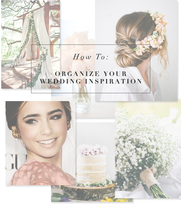 How to Organize Your Wedding Inspiration on Pinterest
