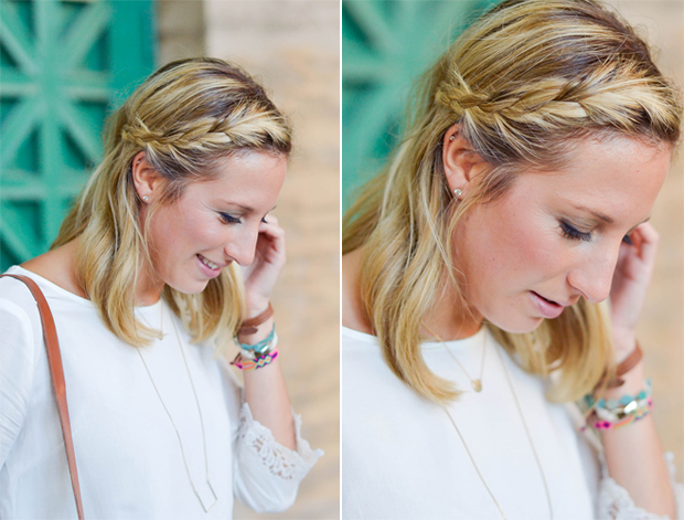 How To: Braided Hairstyle for Summer