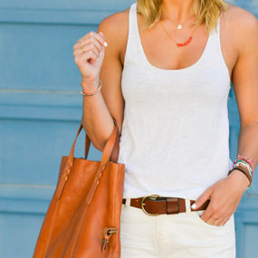 Trend to Try: White Boyfriend Jeans
