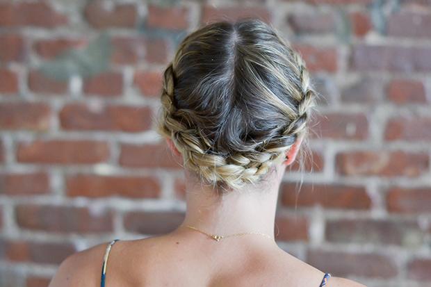 Milkmaid Braids For Short Or Fine Hair