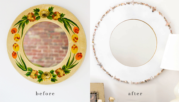 before_after diy mirror