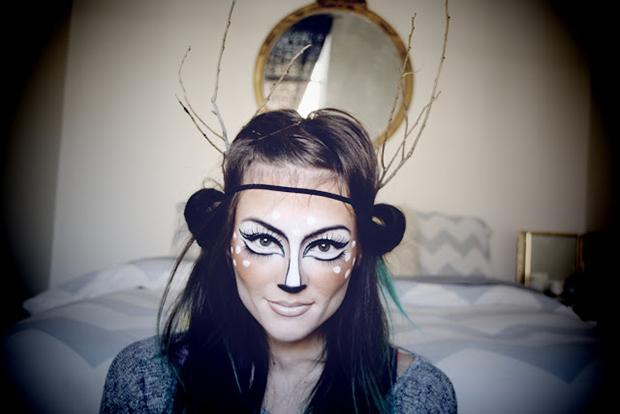 4 Pretty Halloween Makeup DIYs